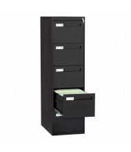 "Tennsco V285C-MF 5-Drawer 28"" Deep Vertical File Cabinet, Legal (Shown in Black)"