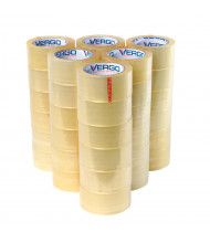 """Vergo Industrial 1.88"""" x 60.2 yds 2.7 Mil Clear Packing Tape, Pack of 36"""