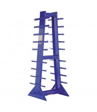 "Vestil 30"" W x 30"" D x 84"" H 9-Level Horizontal Storage Rack"