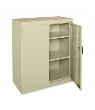 """Sandusky 36"""" W x 18"""" D x 42"""" H Counter Height Storage Cabinet, Assembled (Shown in Putty)"""