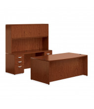 Offices to Go Ventnor VF-C Office Desk Set (Shown in Toffee)