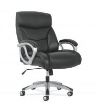 HON Sadie Big and Tall Leather High-Back Executive Chair, Black