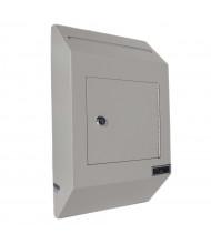 DuraBox W300 Letter Size Wall Drop Box with Tubular Key