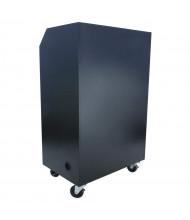 Amplivox Steel Sentry Mobile Workstation Podium