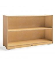 "Whitney Brothers 30"" H 2-Shelf Classroom Storage Unit"