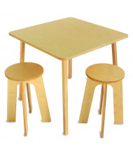 Whitney Brothers Stand Up Table with 2 Stools Set