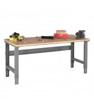 Tennsco Compressed Wood Top Adjustable Leg Workbenches