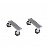 Tennsco Caster Kits For Workbenches (All Swivel Casters Shown)
