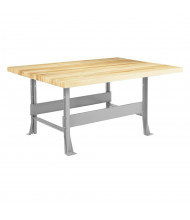 Diversified Woodcrafts Maple Top Steel Workbenches
