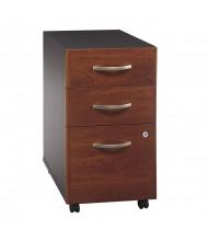 Bush Series C 3-Drawer Box/Box/File Mobile Pedestal (Shown in Hansen Cherry)