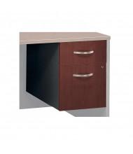 Bush Series C 2-Drawer Box/File 3/4-Pedestal (Hansen Cherry)