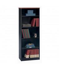 """Bush Series A 26"""" W 5-Shelf Bookcase (Shown in Hansen Cherry)"""