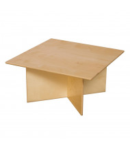"Wood Designs 15"" H Rectangle Preschool Table"