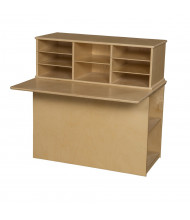 Wood Designs Single Sided Junior Writing Center