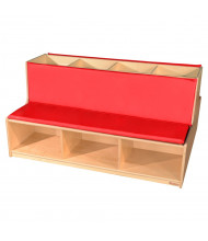 Wood Designs Double Sided Reading Bench