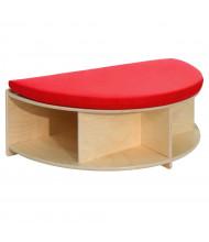 Wood Designs Half Circle Reading Bench