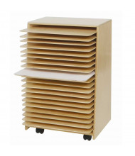 Wood Designs Drying and Storage Art Rack