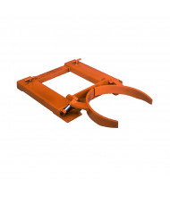 Wesco 1500 to 3000 lb Load Drum Grab Forklift Attachments (Single Drum Grab Shown)