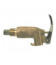 """Wesco 272081 0.75"""" NPT Rigid Shank Heavy Duty Brass Drum Faucet"""