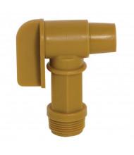"Wesco 272177 0.75"" Polyethylene Drum Faucet"