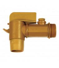 "Wesco 272179 2"" NPT Polyethylene Drum Faucet"