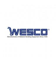 "Wesco Caster: Swivel 3-1/2x1-1/4"" W/Top Plate"