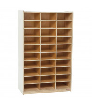 Wood Designs 30 Section Mailbox Center Classroom Storage