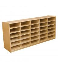 Wood Designs Childrens Classroom 30-Cubby Storage Unit