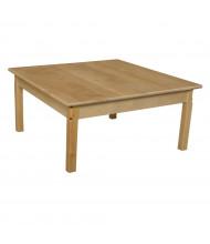 Wood Designs Square Hardwood Elementary School Tables