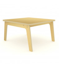 """Whitney Brothers 35"""" D Square Tables, Maple"""