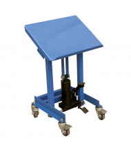 """Vestil 330 lb Load 20"""" x 16"""" Platform Hydraulic Mobile Tilting Work Table"""