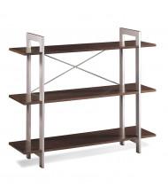Office Star XT27 3-Shelf Bookshelf in Espresso Laminate