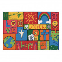 Carpets for Kids Inspirational Patchwork Rectangle Classroom Rug