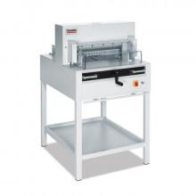 """MBM Triumph 4850 18-7/8"""" Cut 700-Sheet Fully Automatic Stack Paper Cutter"""