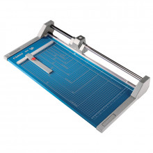 """Dahle 554 28-1/4"""" Cut Professional Rolling Paper Trimmer"""