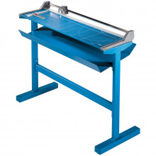 """Dahle 558S  51-1/8"""" Cut Professional LF Rolling Paper Trimmer with Stand"""