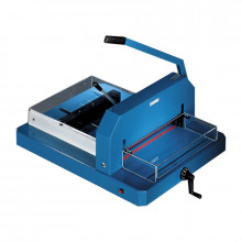 """Dahle 846 16-7/8"""" 500 Sheet Capacity Professional Stack Cutter"""