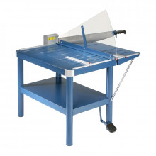 """Dahle 580 32"""" Premium Large Format Paper Cutter Guillotine with Stand"""