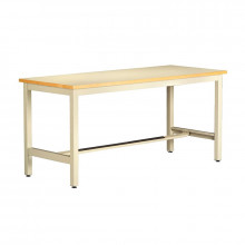 Tennsco ESD Anti-Static Top Electronics Workbenches, Fixed Legs (Shown in Sand)