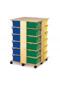 Jonti-Craft 24 Tub Tower Cubbie Storage Unit