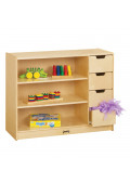 Jonti-Craft Classroom Storage Module