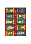 Joy Carpets First Signs Rectangle Classroom Rug