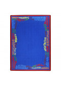 Joy Carpets Read Believe & Achieve Rectangle Classroom Rug