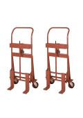 Wesco Rais-N-Rol 2000 lb Load Machinery Movers, Phenolic Wheels