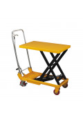 Wesco 330 to 1100 lb Load Folding Handle Manual Hydraulic Scissor Lift Tables