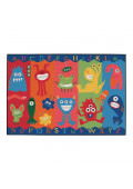 Carpets for Kids Alphabet Monsters Rectangle Classroom Rug