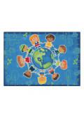 Carpets for Kids Give the Planet a Hug Alphabet Rectangle Classroom Rug
