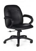 Global Tamiri 4527 Bonded Leather Low-Back Task Chair