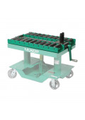 Lexco Manual Push-Pull Die Handling Conveyors 2000 lb Load
