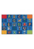 Carpets for Kids A to Z Animals Alphabet Classroom Rug